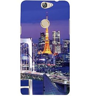IFasho Designer Back Case Cover For Coolpad Max (Cities Shenyang China Muzaffarpur)