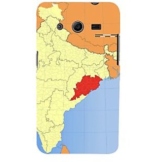 Ifasho Designer Back Case Cover For Samsung Galaxy Core 2 G355H :: Samsung Galaxy Core Ii :: Samsung Galaxy Core 2 Dual ( Map Poster  Map Dreamland  Map Large  Map Gps)