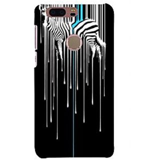Ifasho Designer Back Case Cover For Huawei Honor 8 (Painting Jiraffe Jungle African Safari)