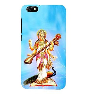 IFasho Designer Back Case Cover For Huawei Honor 4X :: Huawei Glory Play 4X (Saraswati Fortaleza Brazil Kolkata)