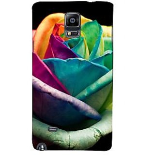 Ifasho Designer Back Case Cover For Samsung Galaxy Note 4 :: Samsung Galaxy Note 4 N910G :: Samsung Galaxy Note 4 N910F N910K/N910L/N910S N910C N910Fd N910Fq N910H N910G N910U N910W8 (Common Rhododendron Govern  Rose Kanti Blow Bloom Nature Flourish)