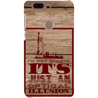 Ifasho Designer Back Case Cover For Huawei Honor 8 (Confusion Illusion Fantasy)