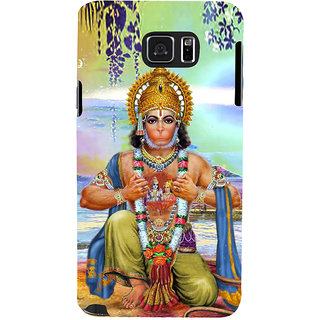Ifasho Designer Back Case Cover For Samsung Galaxy Note 5 :: Samsung Galaxy Note 5 N920G :: Samsung Galaxy Note5 N920T N920A N920I  (Hanuman Hanuman Rings For Boys Hanuman Photo Hanuman Necklace)