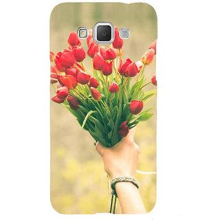 Ifasho Designer Back Case Cover For Samsung Galaxy Grand 3 :: Samsung Galaxy Grand Max G720F (Red Vanda Hoedown Amusement Rose Light Posy Bloom Bunch Ornament)