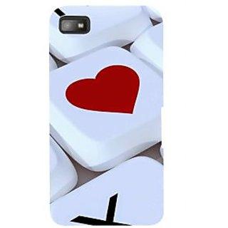 IFasho Designer Back Case Cover For BlackBerry Z10 (Love Love Diary Love It Chocolate Love Mobile)