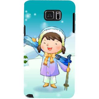 Ifasho Designer Back Case Cover For Samsung Galaxy Note 5 :: Samsung Galaxy Note 5 N920G :: Samsung Galaxy Note5 N920T N920A N920I  (Cartoon Cartoon Representationstar Imitation)