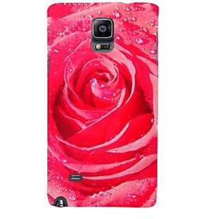 Ifasho Designer Back Case Cover For Samsung Galaxy Note 4 :: Samsung Galaxy Note 4 N910G :: Samsung Galaxy Note 4 N910F N910K/N910L/N910S N910C N910Fd N910Fq N910H N910G N910U N910W8 (Gloriosa Superba Rose Cutter T Rose Perfume Lily )