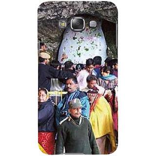 Ifasho Designer Back Case Cover For Samsung Galaxy E5 (2015)  :: Samsung Galaxy E5 Duos :: Samsung Galaxy E5 E500F E500H E500Hq E500M E500F/Ds E500H/Ds E500M/Ds  (Amarnath Malang Indonesia Darbhanga)