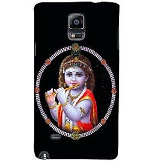 Ifasho Designer Back Case Cover For Samsung Galaxy Note 4 :: Samsung Galaxy Note 4 N910G :: Samsung Galaxy Note 4 N910F N910K/N910L/N910S N910C N910Fd N910Fq N910H N910G N910U N910W8 (Krishna Tashkent Uzbekistan Vishnu Puran Dvd)