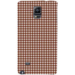 Ifasho Designer Back Case Cover For Samsung Galaxy Note 4 :: Samsung Galaxy Note 4 N910G :: Samsung Galaxy Note 4 N910F N910K/N910L/N910S N910C N910Fd N910Fq N910H N910G N910U N910W8 (White Pages Nfl.Com Bibcam)