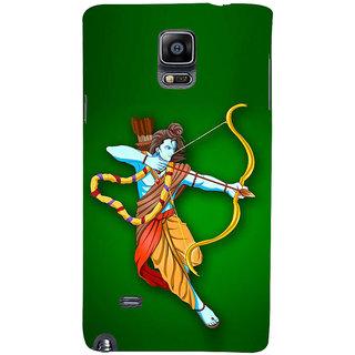 Ifasho Designer Back Case Cover For Samsung Galaxy Note 4 :: Samsung Galaxy Note 4 N910G :: Samsung Galaxy Note 4 N910F N910K/N910L/N910S N910C N910Fd N910Fq N910H N910G N910U N910W8 (Ram Ramayana Ramayan Dvd By Ramanand Sagar Rama Water Filter)