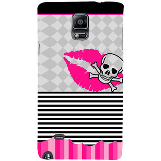 Ifasho Designer Back Case Cover For Samsung Galaxy Note 4 :: Samsung Galaxy Note 4 N910G :: Samsung Galaxy Note 4 N910F N910K/N910L/N910S N910C N910Fd N910Fq N910H N910G N910U N910W8 (Skeleton Faisalabad Scary Watches Scary Stuff)