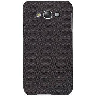 Ifasho Designer Back Case Cover For Samsung Galaxy E5 (2015)  :: Samsung Galaxy E5 Duos :: Samsung Galaxy E5 E500F E500H E500Hq E500M E500F/Ds E500H/Ds E500M/Ds  (Ring Hexagonal Anti Circles Circle)