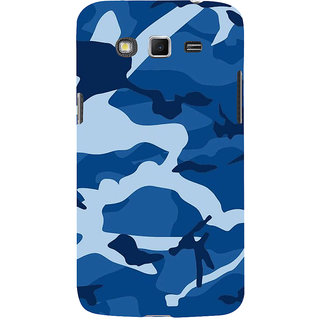 Ifasho Designer Back Case Cover For Samsung Galaxy Grand I9082 :: Samsung Galaxy Grand Z I9082Z :: Samsung Galaxy Grand Duos I9080 I9082 (Ghost Woods Navy Blue)