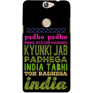 IFasho Designer Back Case Cover For Coolpad Max (Indigenous  Noun Kin Offspring; Classification)