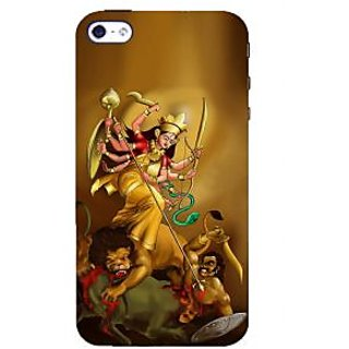 IFasho Designer Back Case Cover For Apple IPhone 4S (Dasahara Holiday Maa Kali Mother Durga)