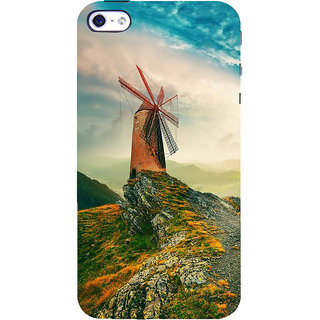 IFasho Designer Back Case Cover For   5 (Hilly Hill Station Ladhak Hills )