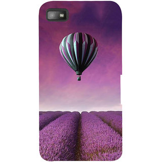 IFasho Designer Back Case Cover For BlackBerry Z10 (Air Baloon Seoul South Korea Mumbai)
