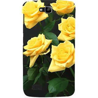 Ifasho Designer Back Case Cover For Huawei Honor Holly (Kopou Phul Dish Of Tea Idli Sociality I Rose Footwear Cream Best Establishment Society)
