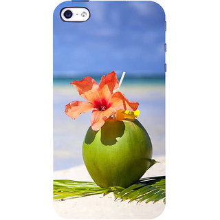 IFasho Designer Back Case Cover For   5 (Beach Footwear Beach Hats For Women Scenary Frames Beach Idp Slippers Sea Salt)
