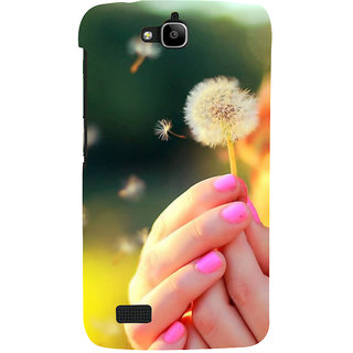 Ifasho Designer Back Case Cover For Huawei Honor Holly ( Seeking Guys Dating Jewlery Making Indore Hip -Hop Music Rewa)