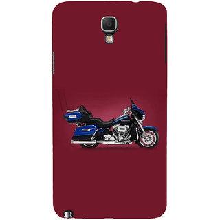Ifasho Designer Back Case Cover For Samsung Galaxy Note 3 Neo :: Samsung Galaxy Note 3 Neo Duos :: Samsung Galaxy Note 3 Neo 3G N750 :: Samsung Galaxy Note 3 Neo Lte+ N7505 :: Samsung Galaxy Note 3 Neo Dual Sim N7502 (Tf Art Exhaust Car)