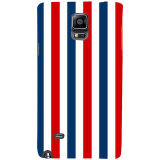 Ifasho Designer Back Case Cover For Samsung Galaxy Note 4 :: Samsung Galaxy Note 4 N910G :: Samsung Galaxy Note 4 N910F N910K/N910L/N910S N910C N910Fd N910Fq N910H N910G N910U N910W8 (Road Usa North America Indepence Day)