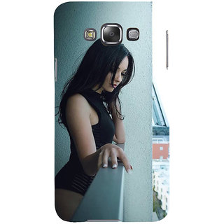 Ifasho Designer Back Case Cover For Samsung Galaxy E5 (2015)  :: Samsung Galaxy E5 Duos :: Samsung Galaxy E5 E500F E500H E500Hq E500M E500F/Ds E500H/Ds E500M/Ds  (Girl Buenos Aires Argentina Girl Zipper Sweatshirt)