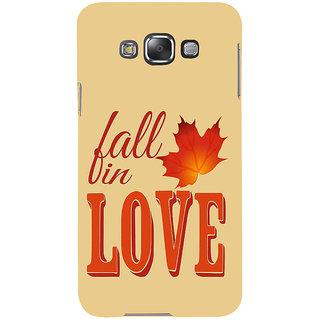 Ifasho Designer Back Case Cover For Samsung Galaxy E5 (2015)  :: Samsung Galaxy E5 Duos :: Samsung Galaxy E5 E500F E500H E500Hq E500M E500F/Ds E500H/Ds E500M/Ds  (Olive Leaf Australia Paris)