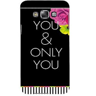 Ifasho Designer Back Case Cover For Samsung Galaxy E5 (2015)  :: Samsung Galaxy E5 Duos :: Samsung Galaxy E5 E500F E500H E500Hq E500M E500F/Ds E500H/Ds E500M/Ds  (Love Pyar Rose One And Only)