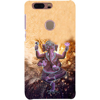 Ifasho Designer Back Case Cover For Huawei Honor 8 (Ganesh Santiago Spiritual Tshirt For Men Rajampet)