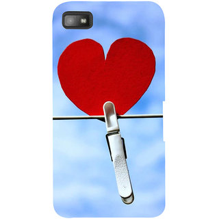 IFasho Designer Back Case Cover For BlackBerry Z10 (Love Heart Tokyo Japan Surat)