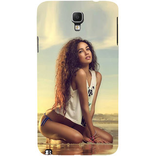 Ifasho Designer Back Case Cover For Samsung Galaxy Note 3 Neo :: Samsung Galaxy Note 3 Neo Duos :: Samsung Galaxy Note 3 Neo 3G N750 :: Samsung Galaxy Note 3 Neo Lte+ N7505 :: Samsung Galaxy Note 3 Neo Dual Sim N7502 (Girl Ahmedabad India Girl Zeans)