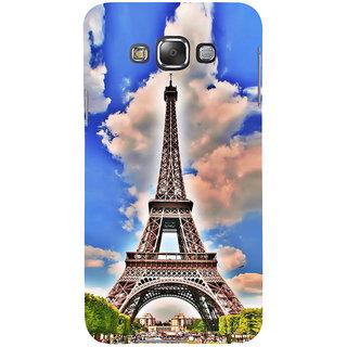 Ifasho Designer Back Case Cover For Samsung Galaxy E7 (2015) :: Samsung Galaxy E7 Duos :: Samsung Galaxy E7 E7000 E7009 E700F E700F/Ds E700H E700H/Dd E700H/Ds E700M E700M/Ds  (Eifel Tower Rio De Janeiro Brazil Ichalkaranji)