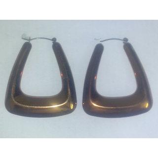 Brownish Copper Drop Earings