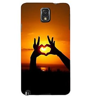 Ifasho Designer Back Case Cover For Samsung Galaxy Note 3 :: Samsung Galaxy Note Iii :: Samsung Galaxy Note 3 N9002 :: Samsung Galaxy Note 3 N9000 N9005 (Love Love Chain Love In The Time Of Cholera Love Meter)