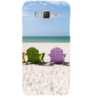 Ifasho Designer Back Case Cover For Samsung Galaxy Grand 3 :: Samsung Galaxy Grand Max G720F (Beach Flip Flops For Women Beach Hat Scenary Posters Beach Inner Sea Shells)