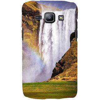 Ifasho Designer Back Case Cover For Samsung Galaxy J1 (2015) :: Samsung Galaxy J1 4G (2015) :: Samsung Galaxy J1 4G Duos :: Samsung Galaxy J1 J100F J100Fn J100H J100H/Dd J100H/Ds J100M J100Mu (River Rocking Peaceful Shanti Scenary)