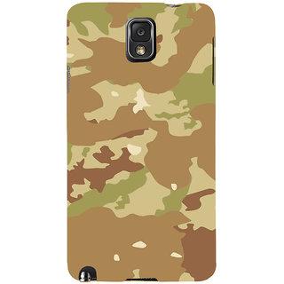 Ifasho Designer Back Case Cover For Samsung Galaxy Note 3 :: Samsung Galaxy Note Iii :: Samsung Galaxy Note 3 N9002 :: Samsung Galaxy Note 3 N9000 N9005 (Gurkha Pahadi Troops Jungle)