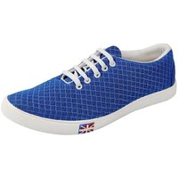 Blinder Men Blue Lace-up Casual Shoes