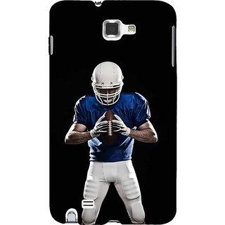 Ifasho Designer Back Case Cover For Samsung Galaxy Note 2 :: Samsung Galaxy Note Ii N7100 (Rugby Belo Horizonte Brazil Orai)