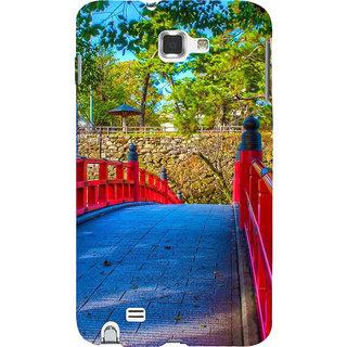 Ifasho Designer Back Case Cover For Samsung Galaxy Note N7000 :: Samsung Galaxy Note I9220 :: Samsung Galaxy Note 1 :: Samsung Galaxy Note Gt-N7000 (Paver Construction Road )