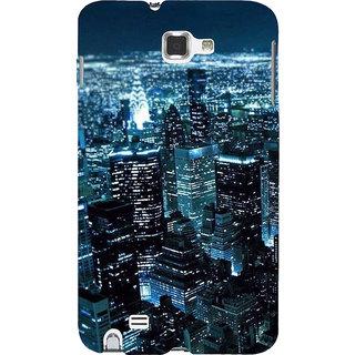 Ifasho Designer Back Case Cover For Samsung Galaxy Note 2 :: Samsung Galaxy Note Ii N7100 (Cities Sydney Australia Raghunathganj)