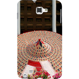 Ifasho Designer Back Case Cover For Samsung Galaxy Note 2 :: Samsung Galaxy Note Ii N7100 (Girls Kurtis New Design Low Price  Girls Rings)