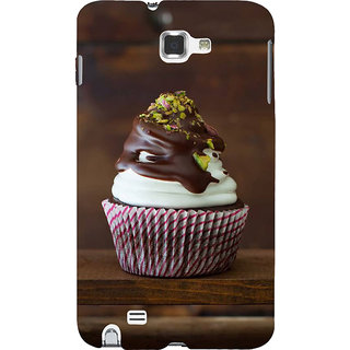 Ifasho Designer Back Case Cover For Samsung Galaxy Note 2 :: Samsung Galaxy Note Ii N7100 (Cake Abidjan Cote D?Ivorie Palakkad)