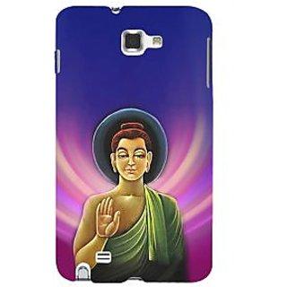 Ifasho Designer Back Case Cover For Samsung Galaxy Note 2 :: Samsung Galaxy Note Ii N7100 (Budha Lord Siddharth  Budha Music Buddha Painting Buddha Photos)