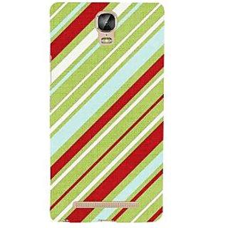 IFasho Designer Back Case Cover For Gionee Marathon M5 Plus (Ethnic Cotton Lining Line )