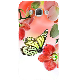 Ifasho Designer Back Case Cover For Samsung Galaxy Grand Max G720 (Butterfly Insect Creature Creation)