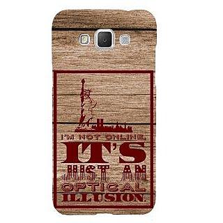 Ifasho Designer Back Case Cover For Samsung Galaxy Grand 3 :: Samsung Galaxy Grand Max G720F (Confusion Illusion Fantasy)