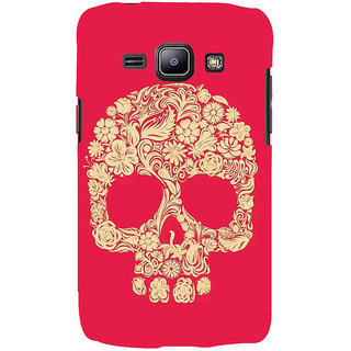 Ifasho Designer Back Case Cover For Samsung Galaxy J1 (2015) :: Samsung Galaxy J1 4G (2015) :: Samsung Galaxy J1 4G Duos :: Samsung Galaxy J1 J100F J100Fn J100H J100H/Dd J100H/Ds J100M J100Mu (Skeleton Taiyuan Scary Teeth Scary Remote Control Toys)
